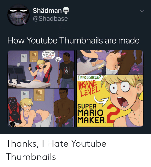 Shädman How Youtube Thumbnails Are Made ON DARNELL COULD You