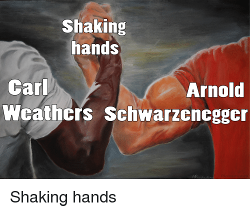 Car, Arnold, and Shaking Hands: Shaking  hands  Car  Wcathcrs Schwarzcncgger  Arnold Shaking hands