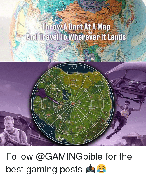 Memes, Best, and Travel: SHAN  And Travel To Wherever It Lands  ENGAL Follow @GAMINGbible for the best gaming posts 🎮😂