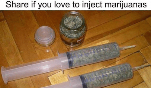 share if you love to inject marijuanas 1732809 ✅ 25 best memes about injecting marijuanas injecting,Injection Meme