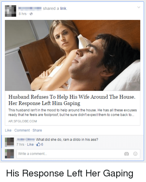 Husabnd shares wife ass