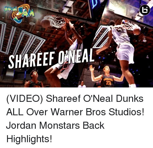 competitive price df024 89317 Dunk, Jordans, and Memes  SHAREEFDANEAL (VIDEO) Shareef O Neal Dunks