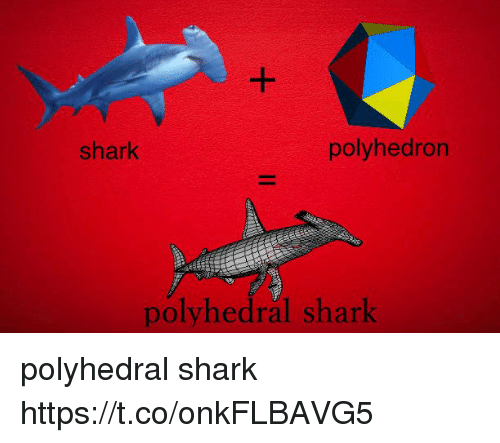 Shark and Https: shark  polyhedron  polyhedral shark polyhedral shark https://t.co/onkFLBAVG5