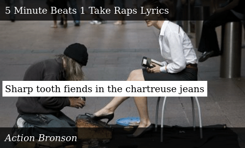 Sharp Tooth Fiends in the Chartreuse Jeans | Meme on ME ME