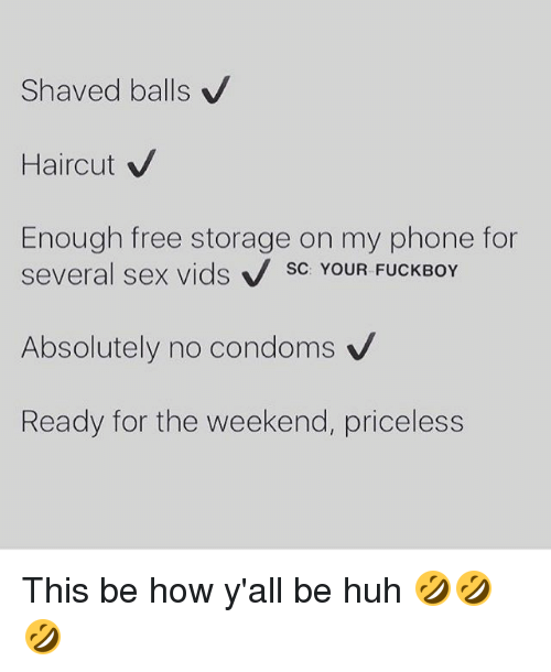 Free Pictures Shaved Balls