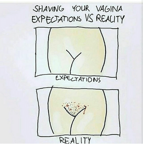 Places that shave vaginas