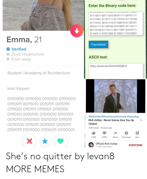 Dank, Memes, and Target: She's no quitter by levan8 MORE MEMES