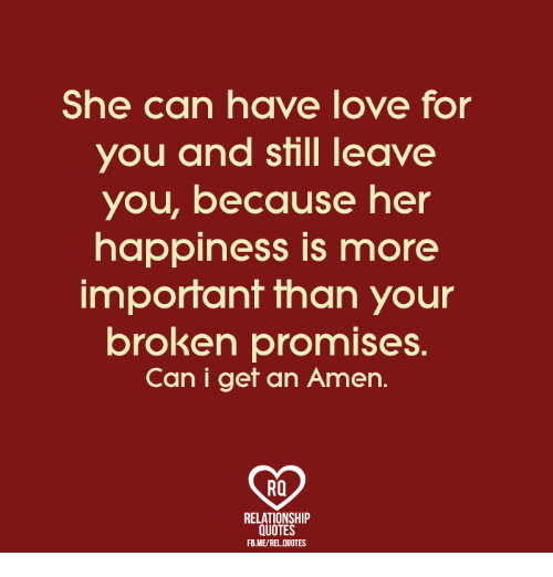 Relationship Promise Quotes: 25+ Best Memes About Broken Promises