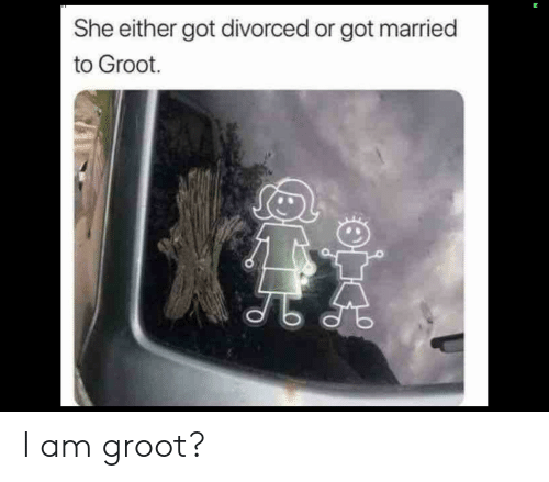 She Either Got Divorced or Got Married to Groot I Am Groot? | Marvel