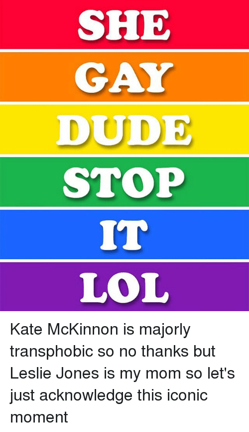 so is she gay