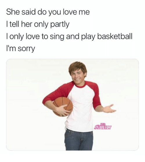 she said do you love me i tell her only partly
