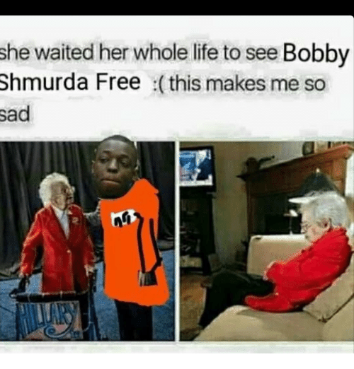 She Waited Her Whole Life to See Bobby Shmurda Free This