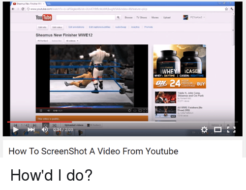 Sheamus New Finisher Youtubecomwatchhv B YouTube Q Browse TV Shows
