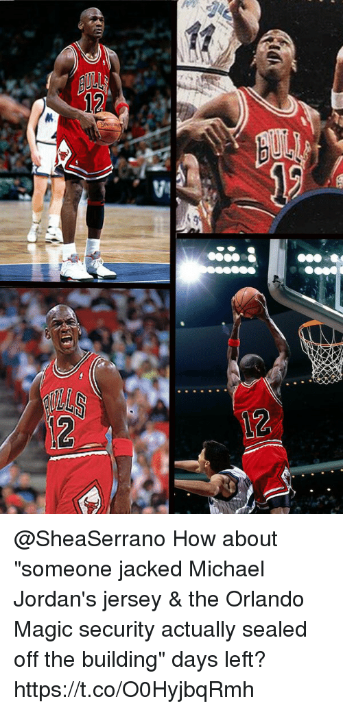 the best attitude 32ca2 994cc How About Someone Jacked Michael Jordan's Jersey &Amp the ...