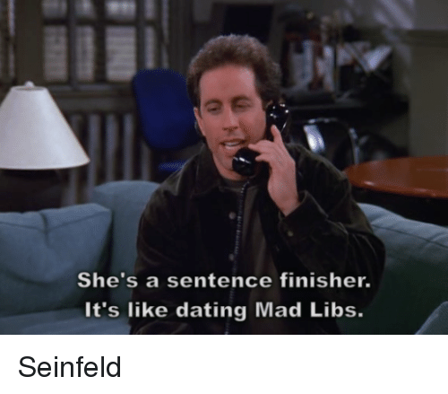 seinfeld dating cashier