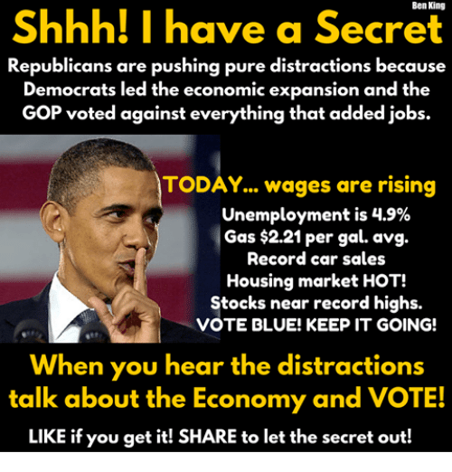 Shhh I Have A Secret Republicans Are Pushing Pure Distractions