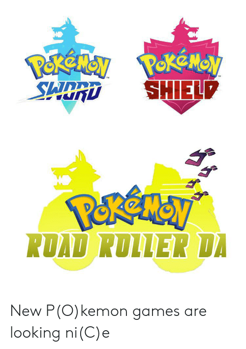 Shield Road Roller Da New Pokemon Games Are Looking Nice Games