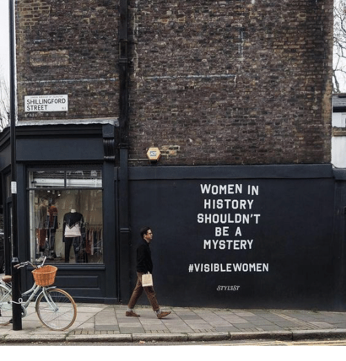 History, Women, and Mystery: SHILLINGFORD  STREET  WOMEN IN  HISTORY  SHOULDN'T  BE A  MYSTERY  #VISIBLEWOMEN  STYLIST