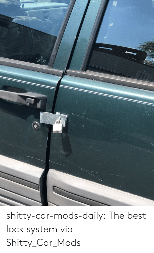 Shitty-Car-Mods-Daily the Best Lock System via Shitty_Car_Mods