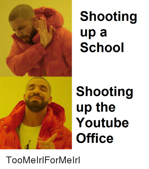 Shooting Up A School Shooting Up The Youtube Office