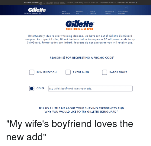 Shop Oral-B BRAun Gillette lIVE CHAT I CONTACT US | SIG IN