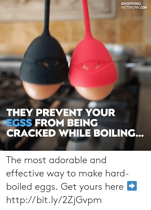 Dank, Shopping, and Cracked: SHOPPING  NETWORK.COM  THEY PREVENT YOUR  EGSS FROM BEING  CRACKED WHILE BOILING... The most adorable and effective way to make hard-boiled eggs. Get yours here ➡️ http://bit.ly/2ZjGvpm