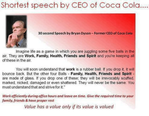 speech about family and friends