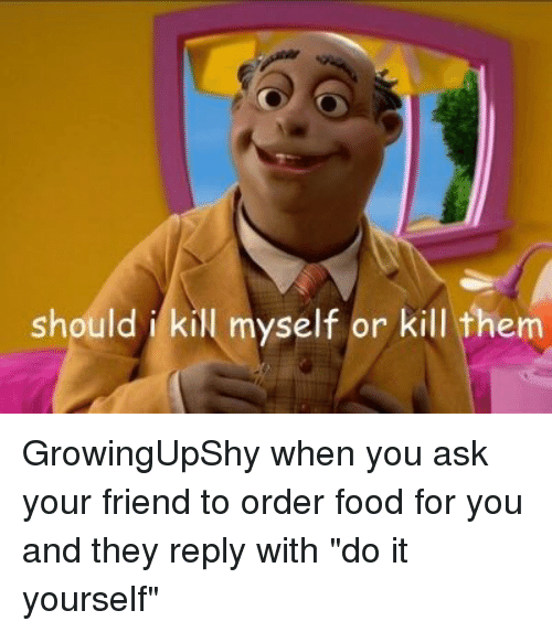 how to kill yourself funny