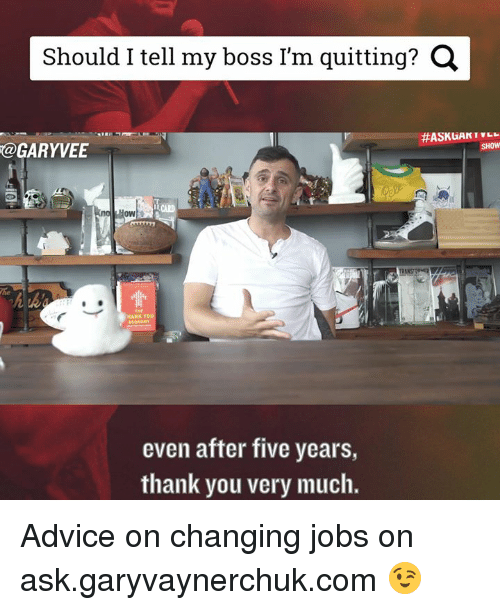 how to tell your boss you re quitting script
