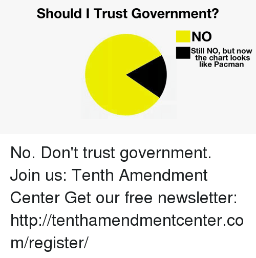 should we trust the government
