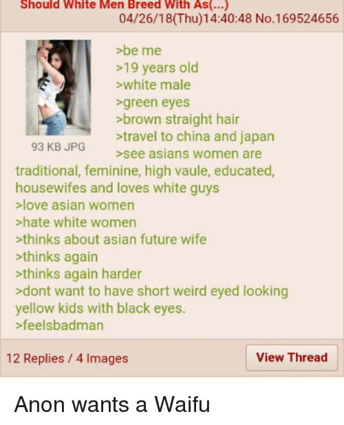 asian men love white women