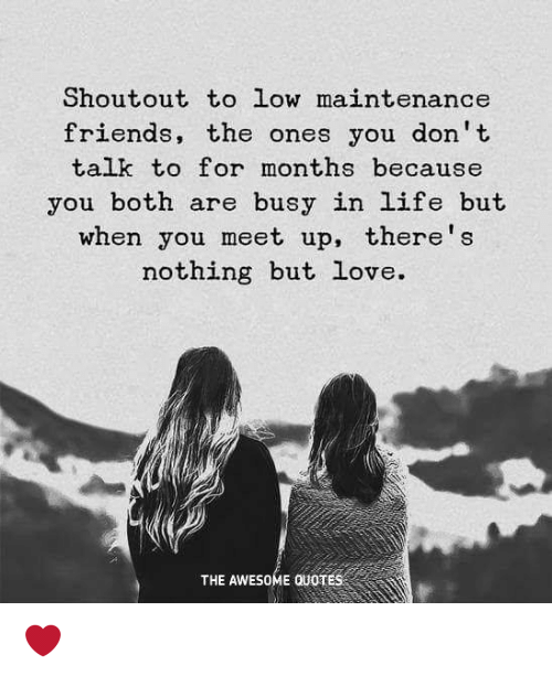 Low Life Person Quotes: Shoutout To Low Maintenance Friends The Ones You Don't