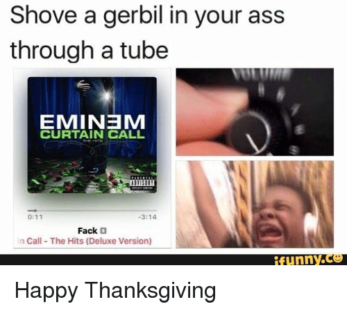 In The Ass Tube