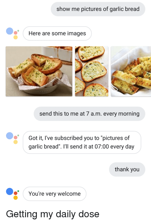 Thank You Images And Pictures Show Me Of Garlic Bread Here Are