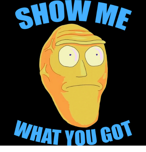 show me what you got clean