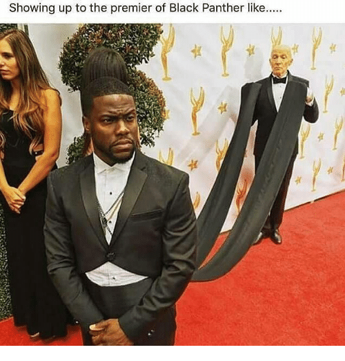 Funny Kevin Hart Instagram Photos Showing Up to the Prem...