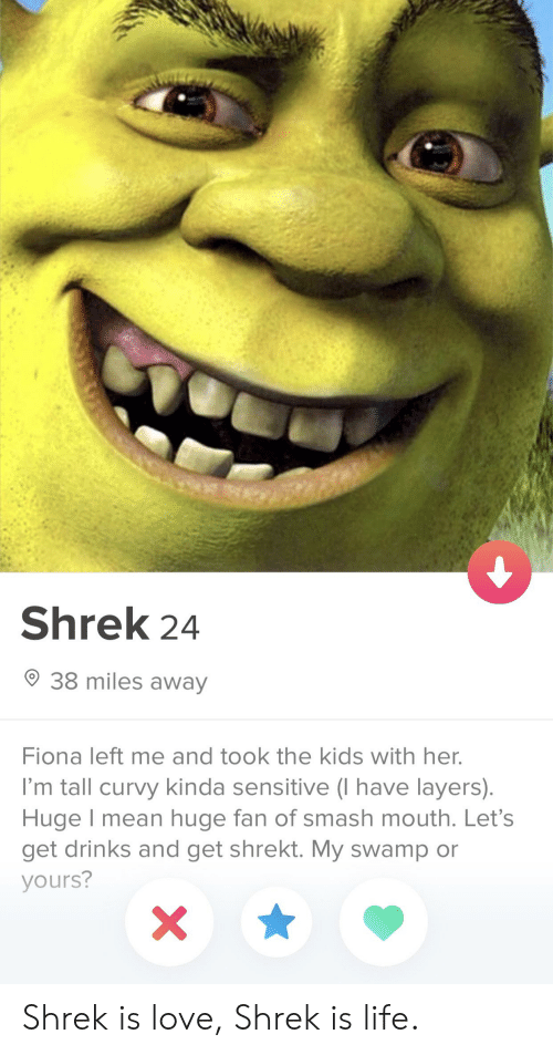 Shrek 24 38 Miles Away Fiona Left Me and Took the Kids With Her I'm