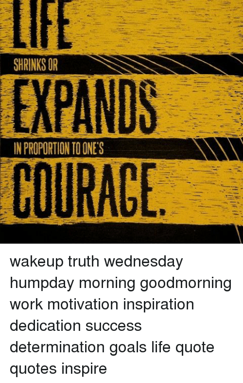Shrinksor Expands In Proportion To Ones Wakeup Truth Wednesday