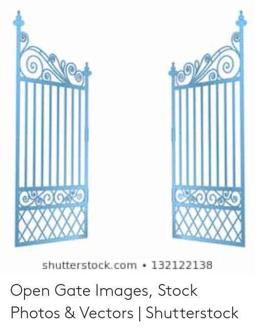 Shutterstockcom 132122138 Open Gate Images Stock Photos