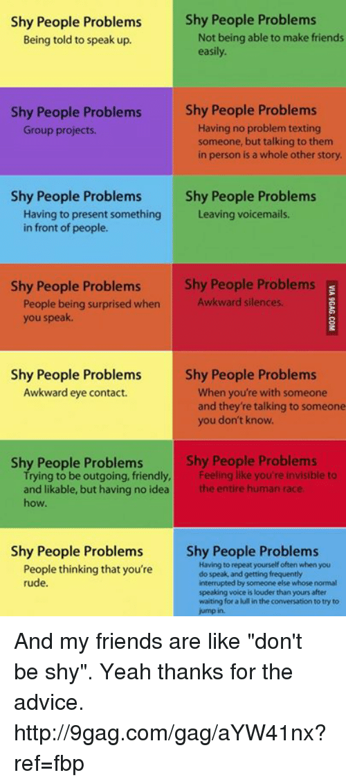 how to help shy people