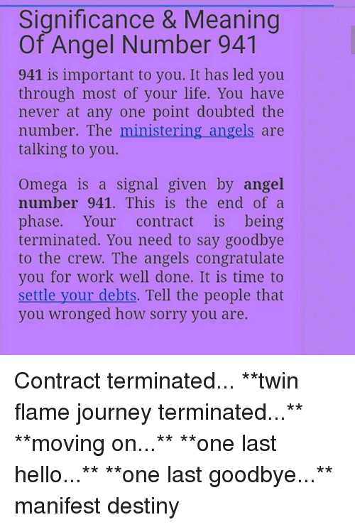Significance & Meaning of Angel Number 941 941 Is Important