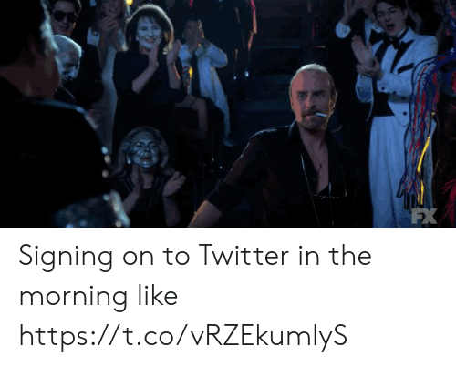Memes, Twitter, and 🤖: Signing on to Twitter in the morning like https://t.co/vRZEkumlyS