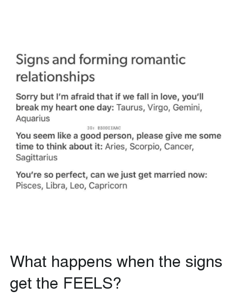 signs im in love