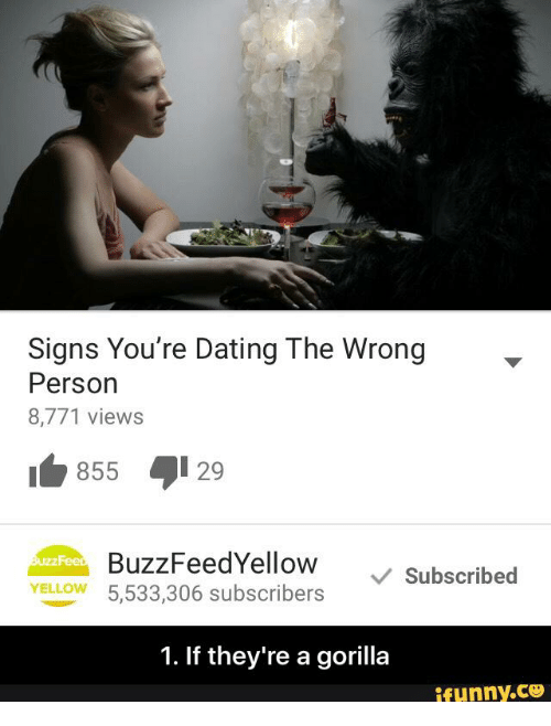 Buzzfeed dating the signs