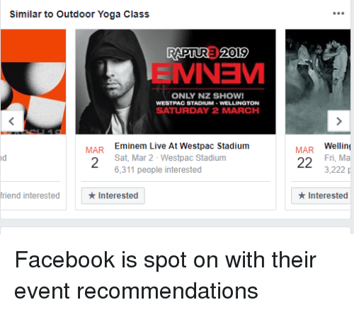 Similar to Outdoor Yoga Class RAPTURE 2019 MINEM ONLY NZ SHOW