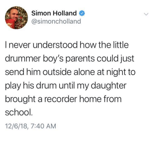 being alone parents and school simon holland simoncholland i never understood how