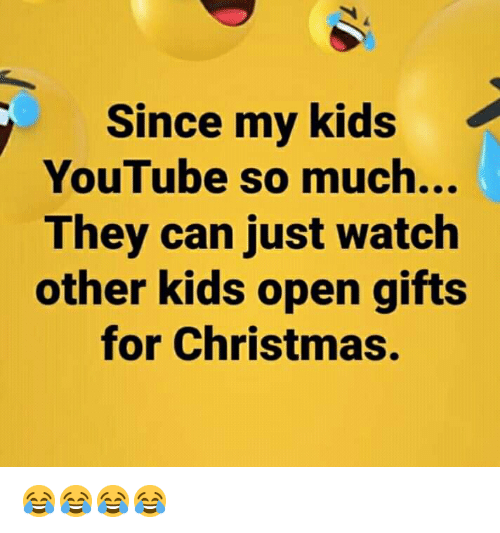 Since My Kids YouTube So Much They Can Just Watch Other Kids Open