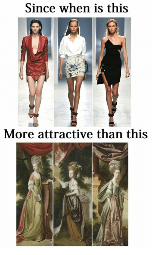 Classical Art, More, and This: Since when is this  More attractive than this