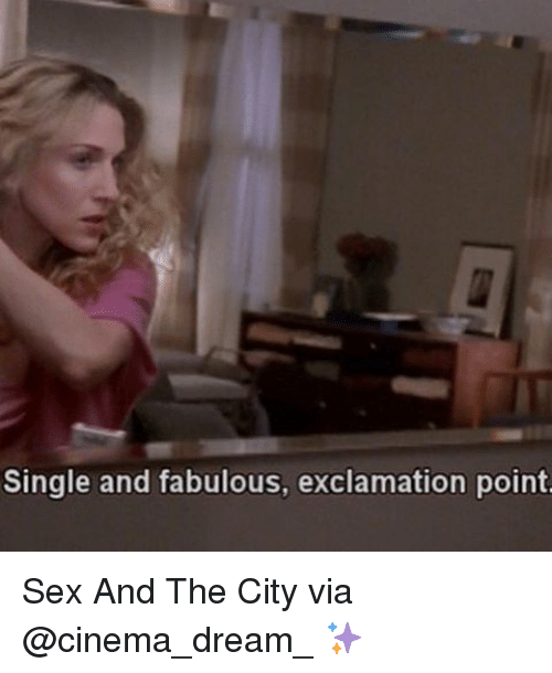 Sex and the city single and fabulous