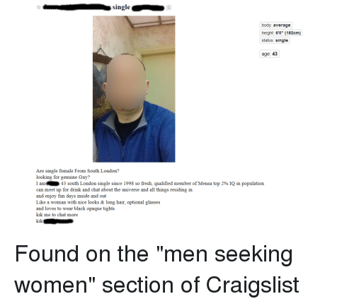 Craigslist long island man seeking women
